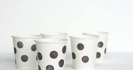 لیوان یکبار مصرف کاغذی پذیرایی