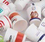 ظروف یکبار مصرف کاغذی تبلیغاتی