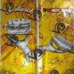 خرید پاکت صدفی ساندویچ