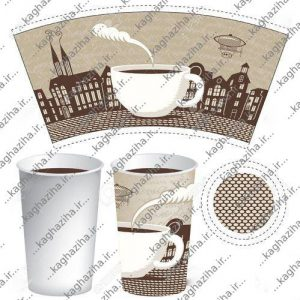 تولید استروک لیوان کاغذی