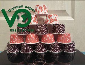 صادرات کپسول کاپ کیک لبه گرد