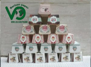 فروش کپسول کاپ کیک چهارگوش
