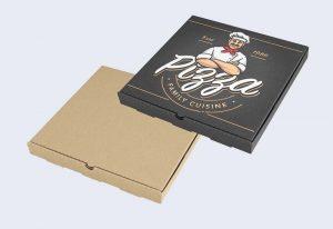 جعبه پیتزا مشکی مینی تک دونفره 27 24 20 32 خانواده